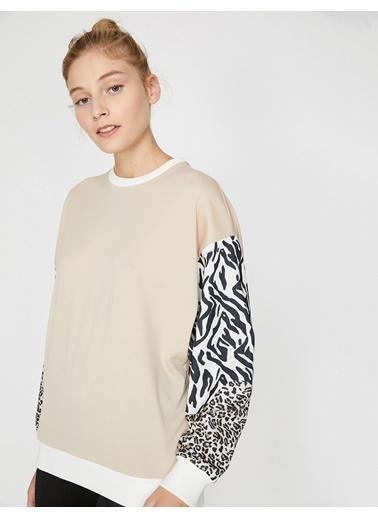 Koton Sweatshirt Bej